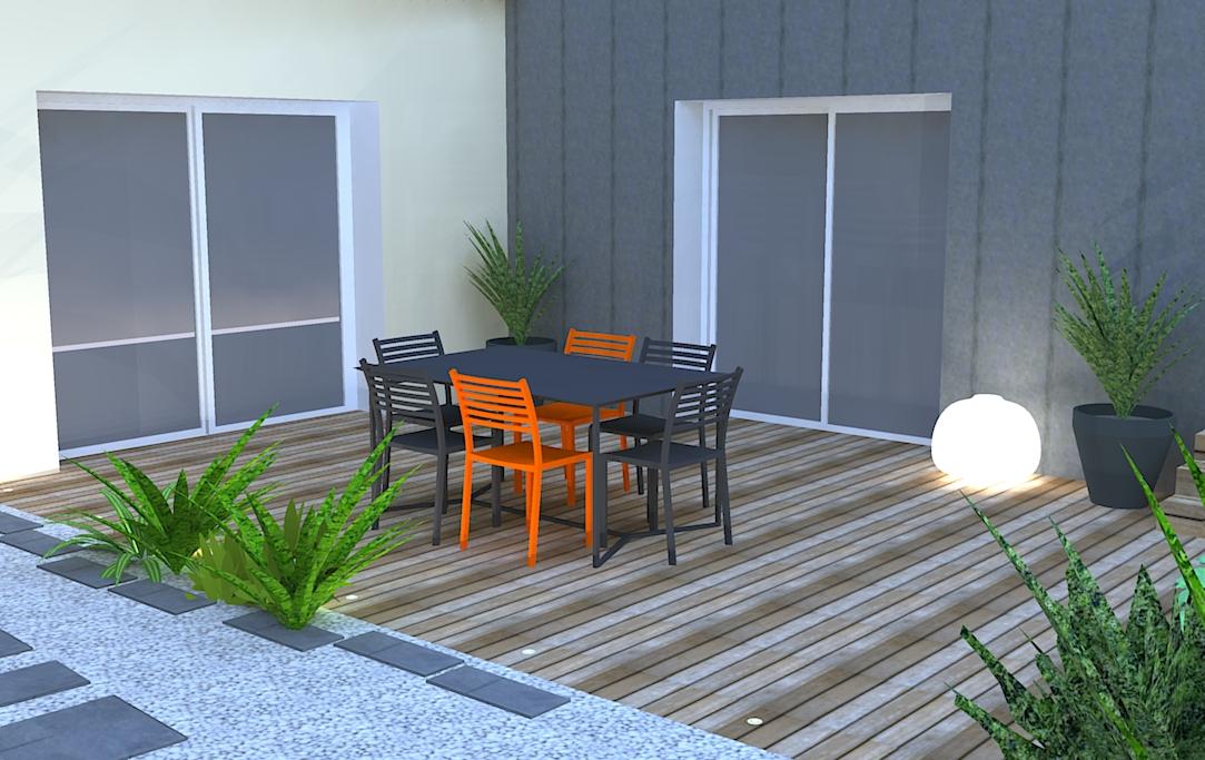 amenagement exterieur dune habitation familiale With amenagement petit jardin exterieur 3 amenagement exterieur dune habitation familiale