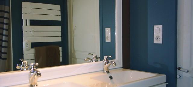 Rénovation d'une salle de bains et de toilettes
