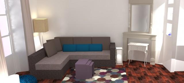 Un appartement de ville très cosy